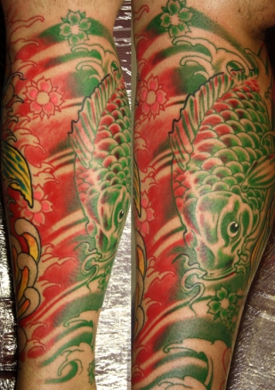 Japanese Style Koi, Японски стил, шарани